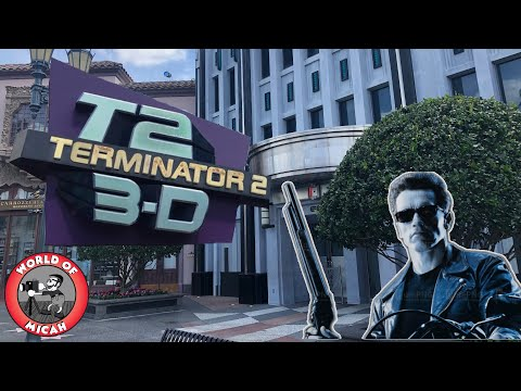 What remains of TERMINATOR 2 - 3D Battle Across Time at Universal Studios Florida? (WORLD OF MICAH)