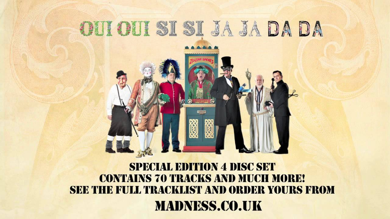 Madness Big Time Sister Teaser Taken From Oui Oui Si Si Special Edition Youtube