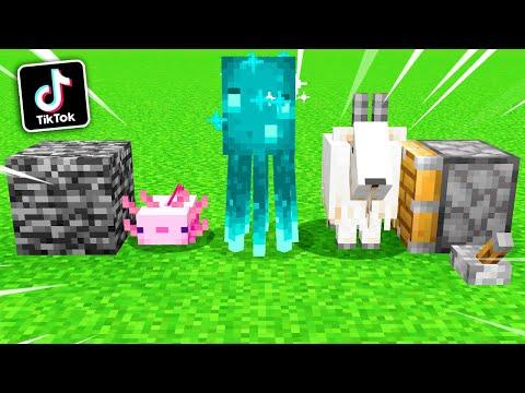 """🔥โคตรเจ๋ง!!【""""สิ่งที่คุณอาจจะยังไม่รู้ว่าทำได้ในมายคราฟ!! #88""""】  (Minecraft Building)"""