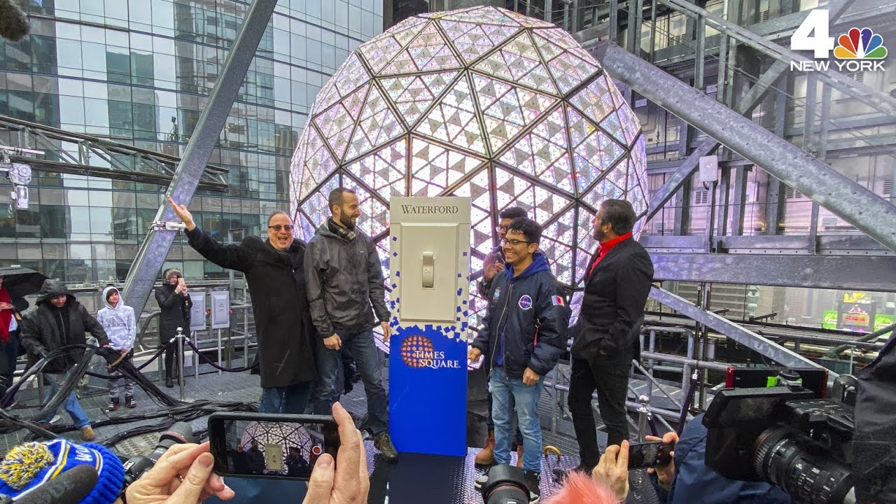New Year S Eve 2020 Times Square Ball Is Ready For Its Big Night
