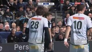 Hc erlangen vs füchse berlin 23:27 (10:15) | full match dkb handball bundesliga 21/12/2017
