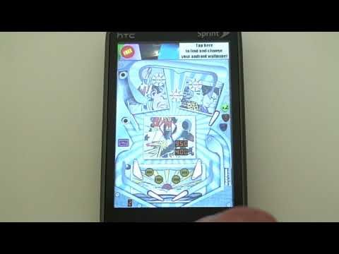 Free Pinball Game App For Android Cell Phones -- Demo