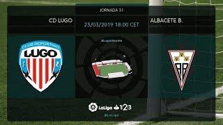 CD Lugo - Albacete BP MD31 S1800
