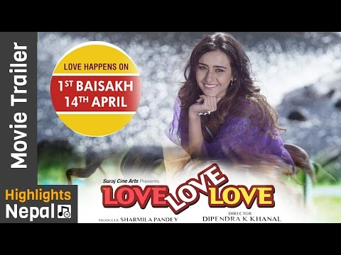 Love Love Love | New Nepali Movie Official Trailer Ft. Swastimaa Khadka, Suraj Pandey