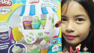 Play-Doh - Ice Cream Sundae Cart - Sweet Shoppe - Fashion Thumbnail