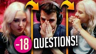 1 MORT = 1 QUESTION INDISCRETE OU COQUINE ! Clara Doxal et Skyyart (AC Origins)