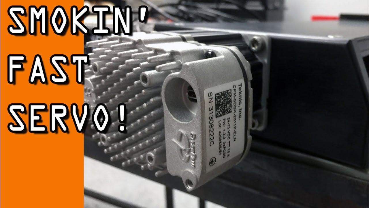 SUPER Fast Arduino Servo! ClearPath! - NYC CNC
