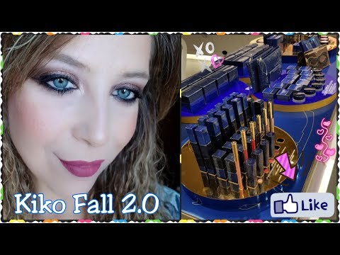 Kiko Fall 2.0 proviamo insieme i prodotti - Try on Haul || laEliZ80