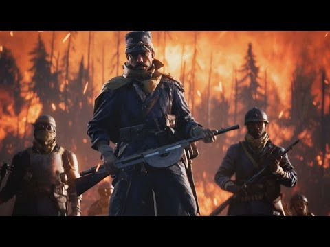 Battlefield 1 Official They Shall Not Pass Trailer Xbox One/PS4/PC