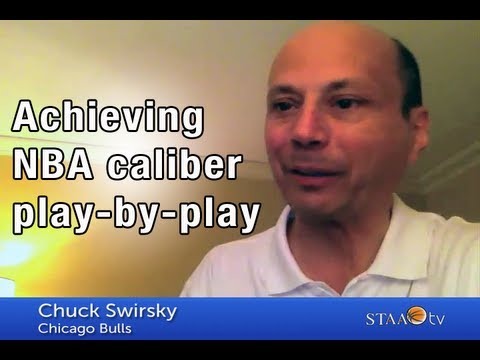 Achieving NBA caliber play-by-play - Chuck Swirsky | STAA TV Ep. 13
