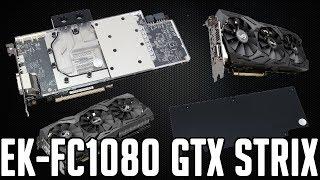 How to install EK-FC1080 GTX Strix waterblock on GPU