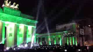 Download U2 featuring Jay-Z - Sunday Bloody Sunday, live in Berlin at Brandenburger Tor MP3 song and Music Video