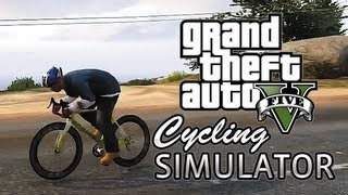 GTA 5: Cycling Simulator (Grand Theft Auto 5 Gameplay)