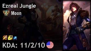 Ezreal Jungle vs Kha'Zix - Moon - NA Challenger Patch 6.24