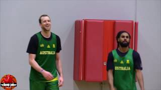 Patty Mills vs Joe Ingles 3 Point Battle In Australia. USA Basketball 2019 HoopJab NBA