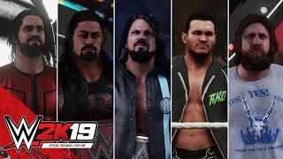 WWE 2K19 Entrances: AJ Styles, Strowman, Reigns, Bryan, Seth Rollins, Nakamura, Orton & Ambrose thumbnail