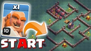 YOU WON'T WIN LOL!!! | Clash of clans | ROASTER TROLL MAZE!!