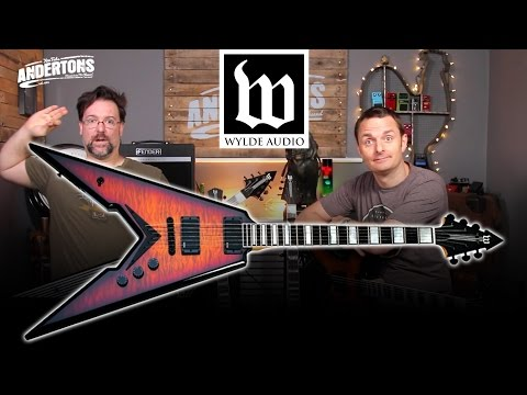 Wylde Audio Guitars - Zakk has Designed His Own Guitars!