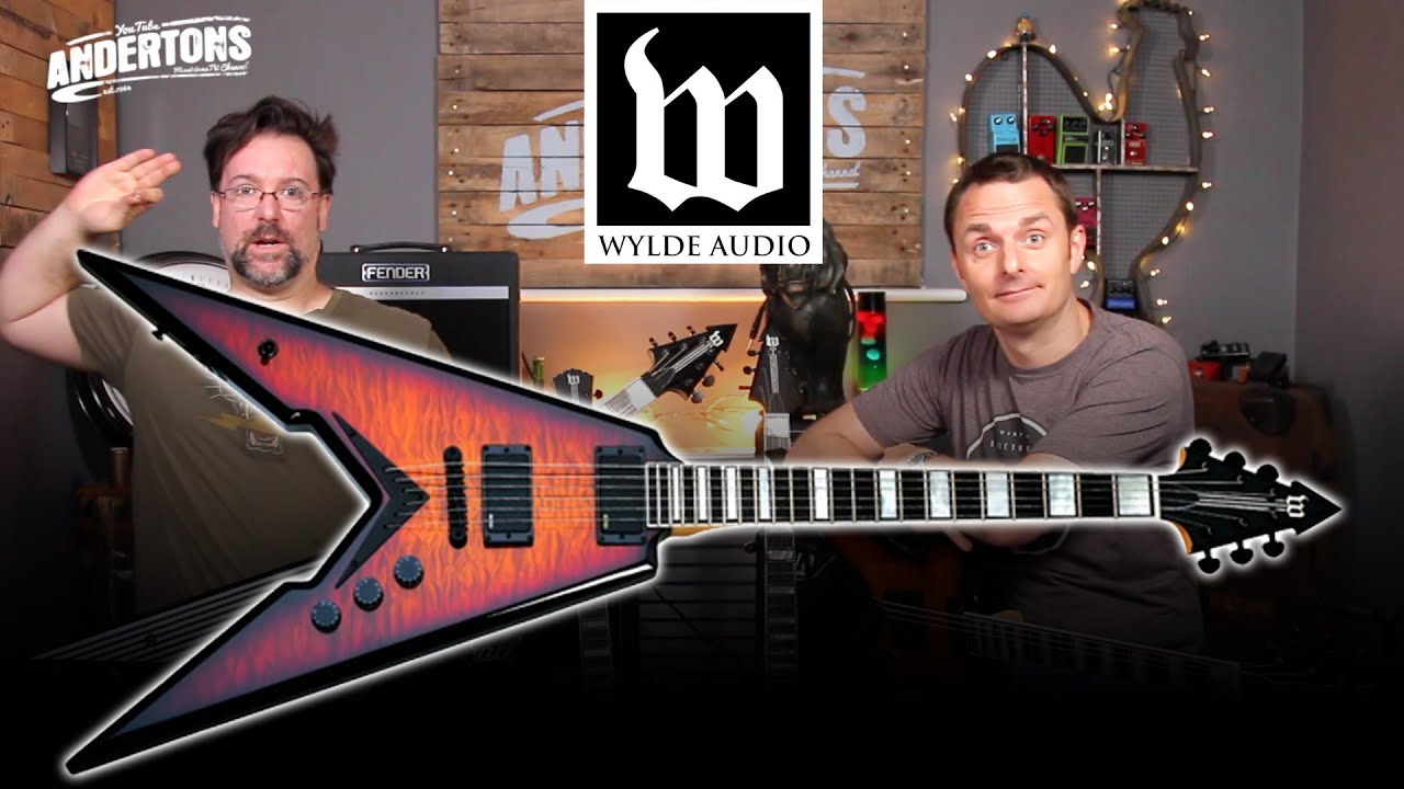 wylde audio guitars zakk has designed his own guitars youtube. Black Bedroom Furniture Sets. Home Design Ideas