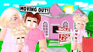MY DAUGHTER MOVED OUT AND BOUGHT A NEW HOUSE ON BLOXBURG! (Roblox)
