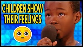 "Top 10 ""WHEN CHILDREN START to CRY on GOT TALENT WORLD!"