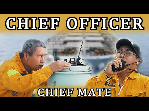 Day in the LIFE of a CHIEF OFFICER [Chief Mate] - Life at Sea
