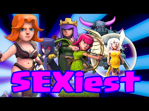 Clash of clans SEXIEST FEMALE CHARACTERS (my ranking)