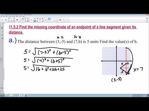 11.5 Apply the Distance and Midpoint Formula