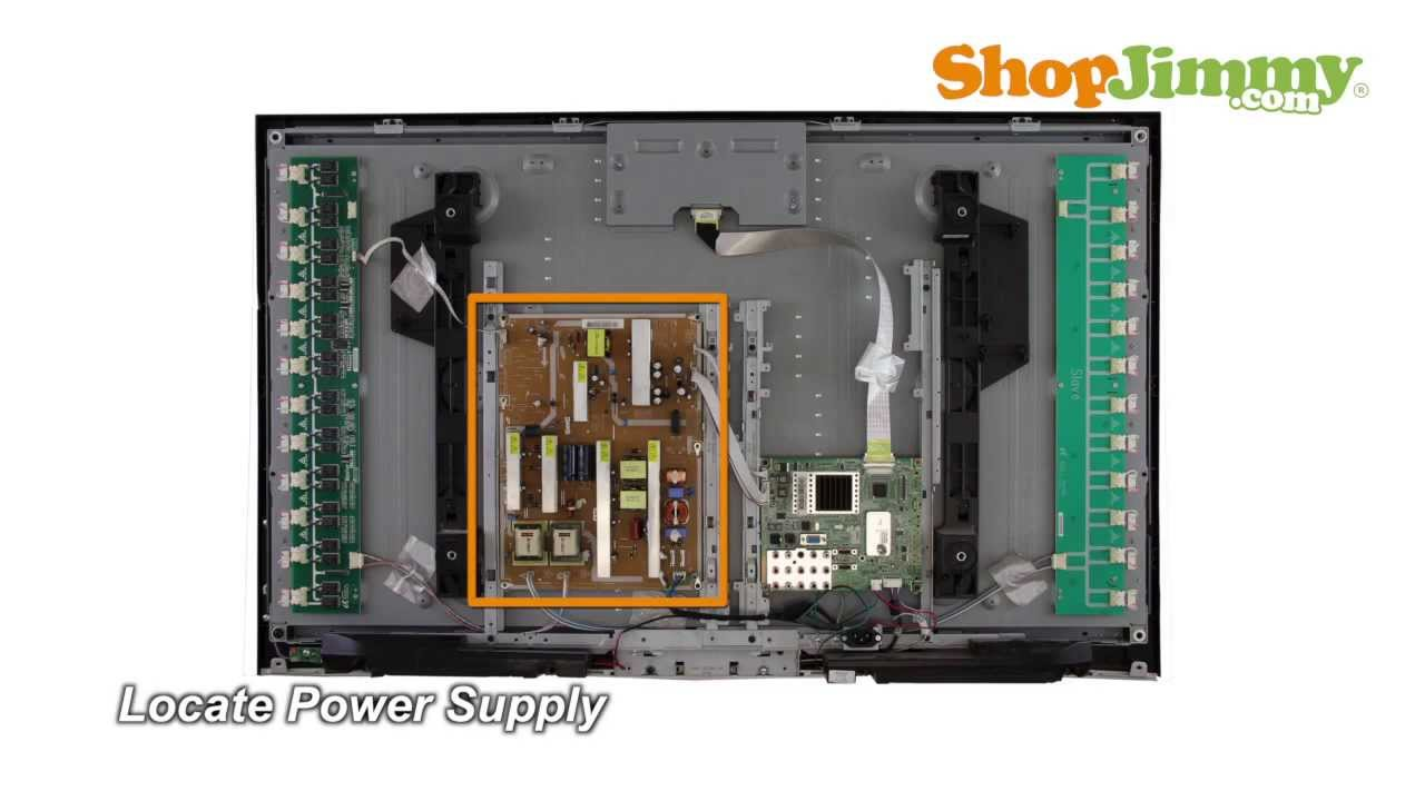 Samsung LN52A530P1FXZA Power Supply Unit (PSU) Boards Replacement ...