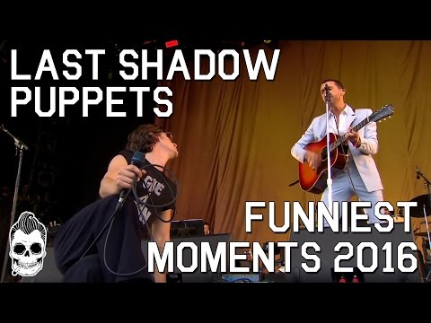 THE LAST SHADOW PUPPETS FUNNIEST MOMENTS 2016 | MILES KANE & ALEX TURNER