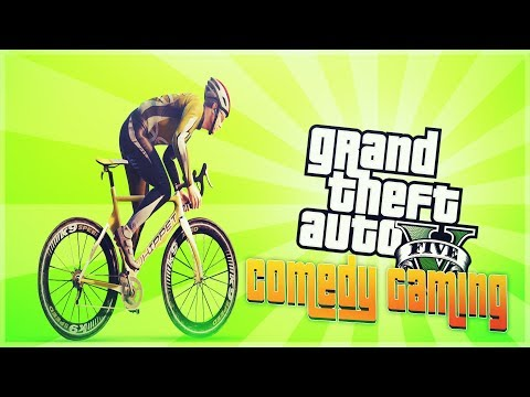 GTA 5 - Baxter The Bike - Launch Glitch - Comedy Gaming