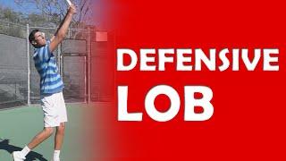 Defensive Lob Technique | LOBS