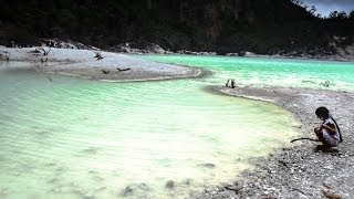 KAWAH PUTIH, Beautiful Crater, Bandung, West Java, Indonesia