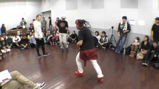 KING OF HOUSE vs la☆Terre BEST32 FREESTYLE SIDE / RUN UP! × ばとる☆マギカ vol.2