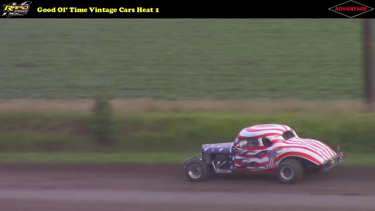 Week 9: GOTRA Vintage Racing -- 7/22/16 -- Rapid Speedway - YouTube