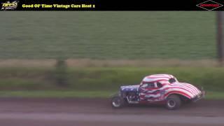 Week 9:  GOTRA Vintage Racing -- 7/22/16 -- Rapid Speedway