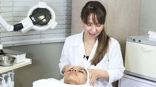 Skin Analysis And Facial Treatment For Hormonal Acne