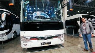 """Массаж *опы или как растут """"китайцы"""": обзор Yutong 6122 на автобусном салоне 2016 (ч.3)"""