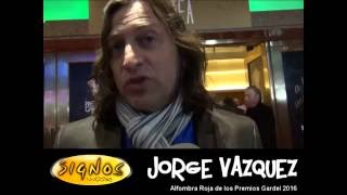 Nota - Jorge Vazquez - Premios Gardel 2016