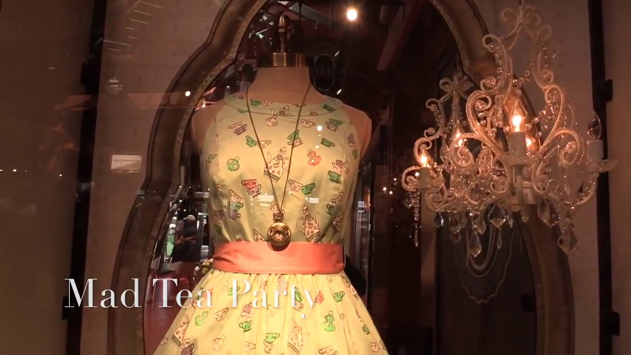 The Dress Shop opens at Walt Disney World - Disney Springs - YouTube