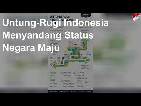 Untung-Rugi Indonesia Menyandang Status Negara Maju