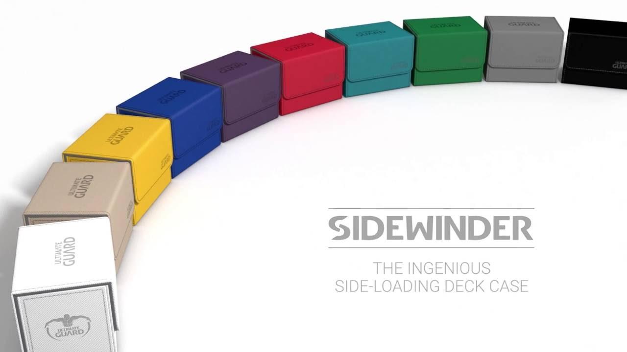 DECK CASE Side Loading Card Box ULTIMATE GUARD XENOSKIN ORANGE SIDEWINDER 100