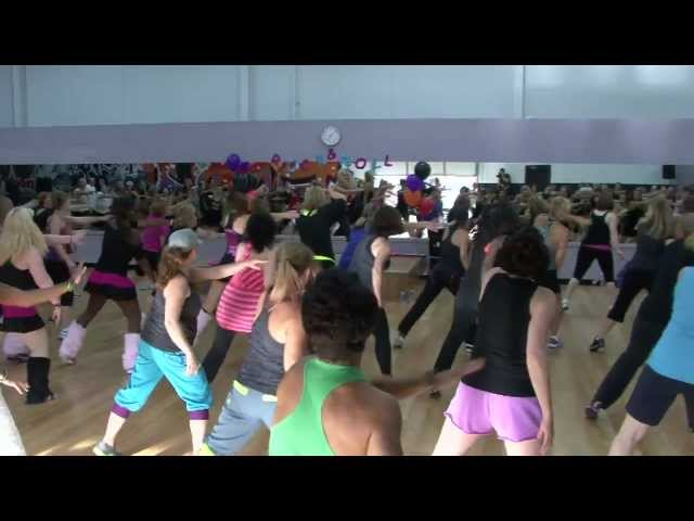Rock 'n Roll Dance Fitness Warm Up Choreography