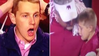Auburn vs. Alabama: Best Fan Reactions (2013 Iron Bowl Game Ending Play)