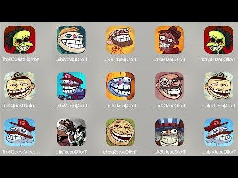 Troll Quest Horror,Troll TV,Troll meme,Troll Unlucky,Troll Classic,Troll Internet,Troll Video
