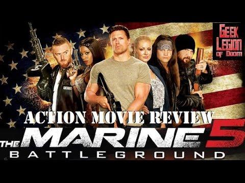 THE MARINE 5 :  BATTLEGROUND ( 2017 Mike 'The Miz' Mizanin ) WWE Action Movie Review