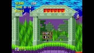 Sonic the Hedgehog - Marble 1: 0:16 (Speed Run)