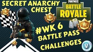 Fortnite - Battle Pass Challenge Week 6 - SECRET Anarchy Acres Chest