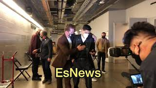 Canelo In English Waтch What He Tells Ryan Garcia After The Huge KO Win Over Campbell ESNEWS BOXING