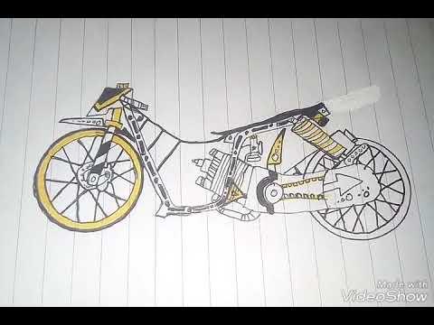 Blog E Rizal Slankers Gambar Motor Drag